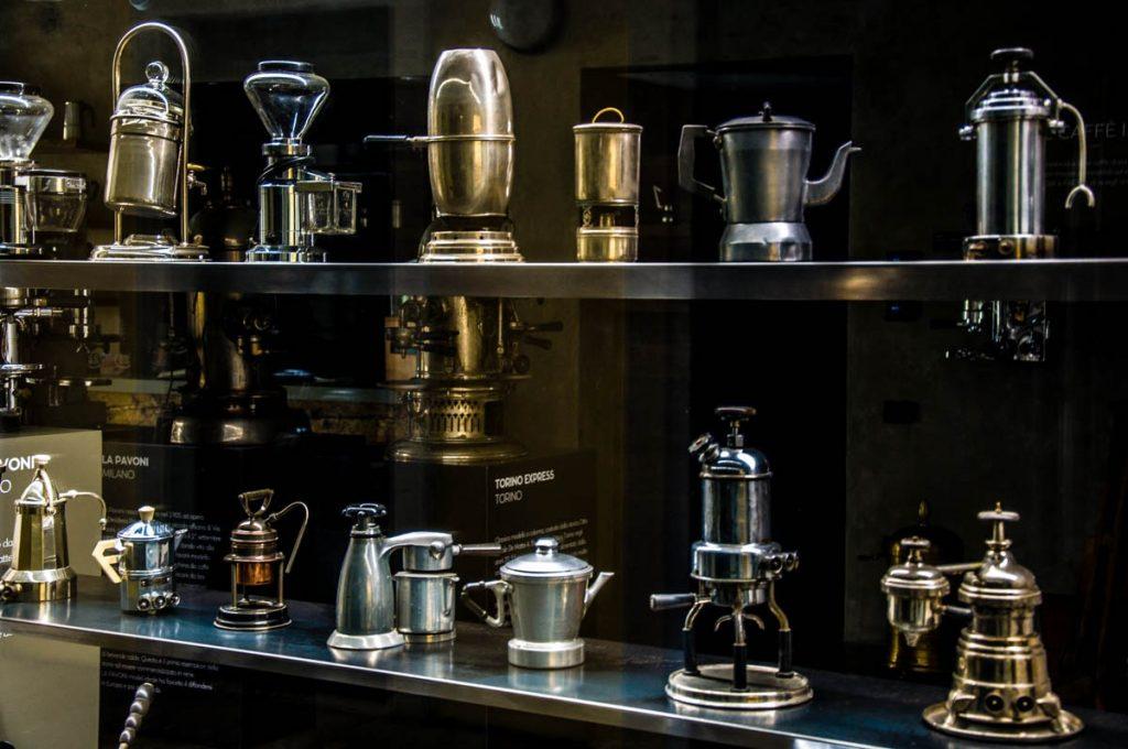кофеварки из музея кофе