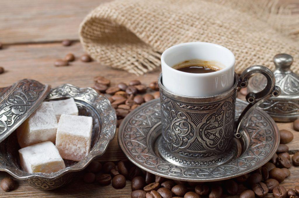 серебряный набор для кофе