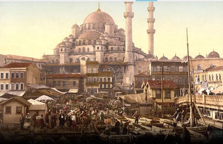 вид старинного Стамбула