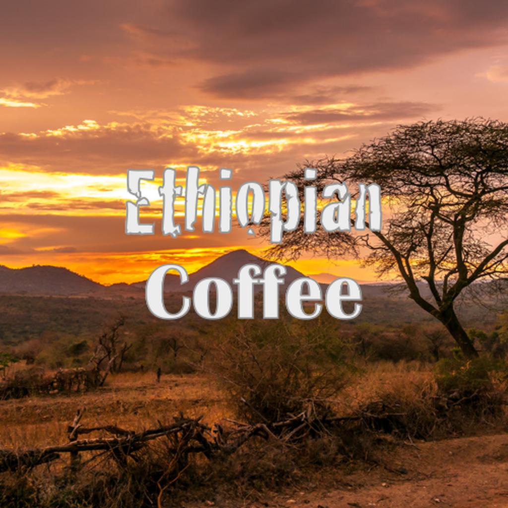 Рисунок эфиопского кофе