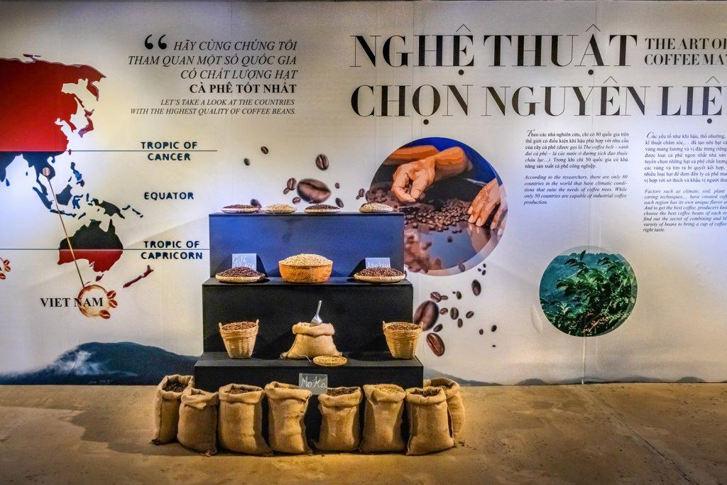 стенд в Мировом музее кофе