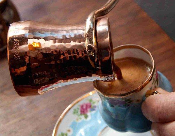 турецкий кофе на джезве