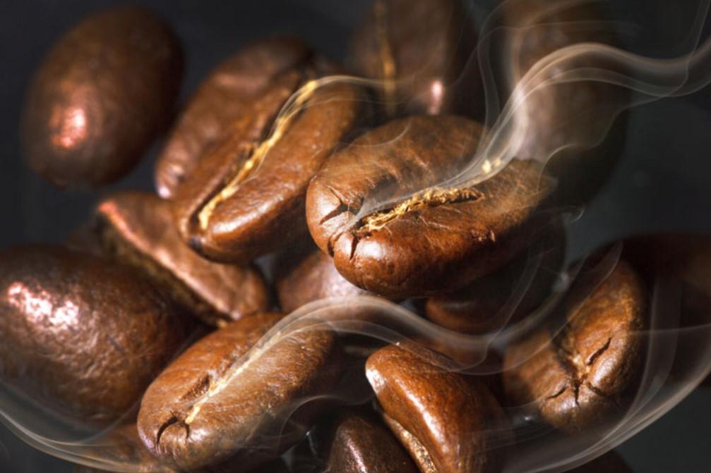 обжаривание зерен кофе