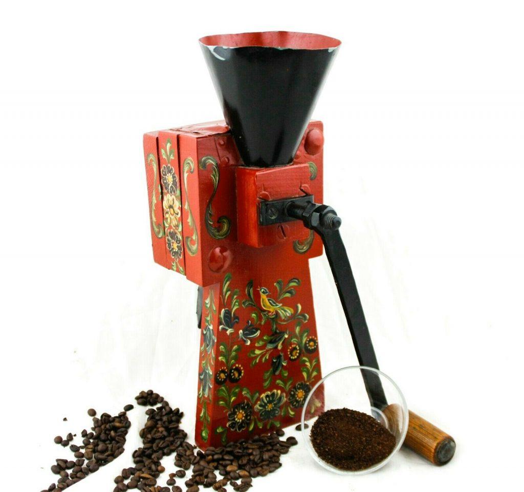 нидерландская старинная кофемолка