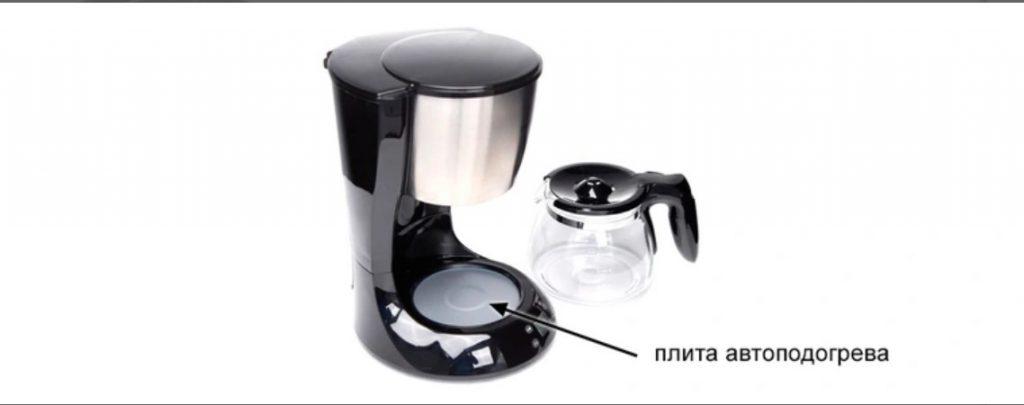 плита автоподогрева капельной кофеварки