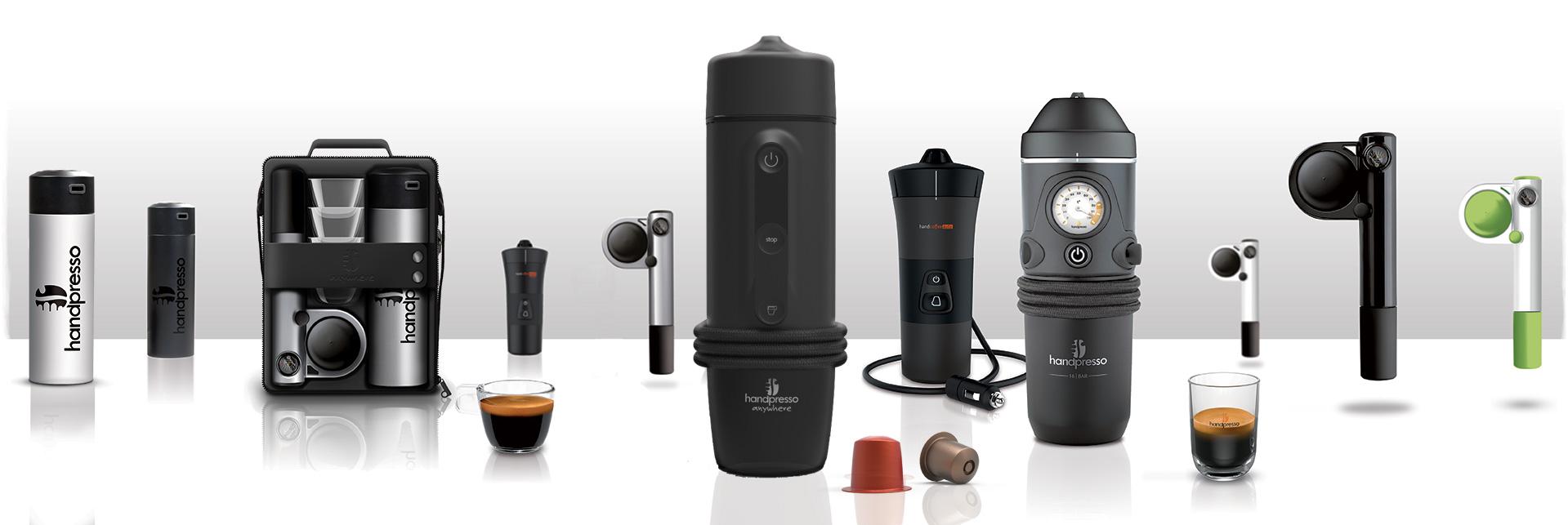портативные кофеварки