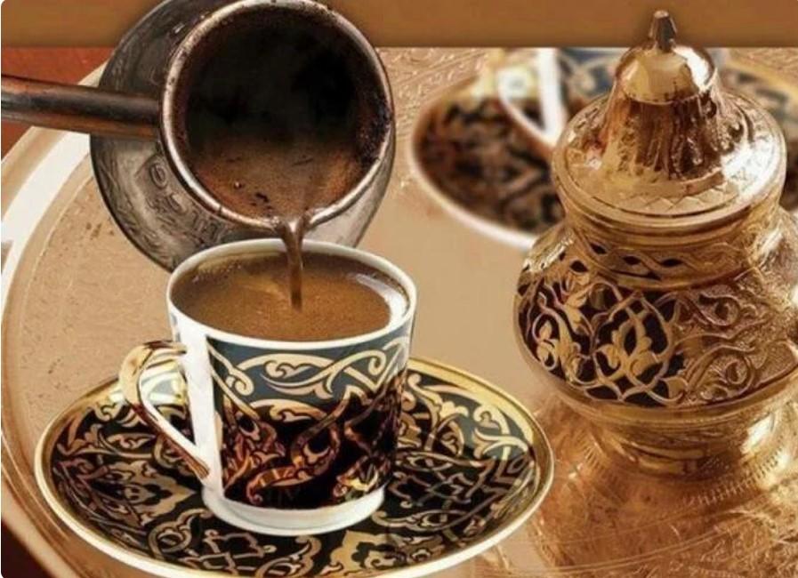 арабский кофе в турке