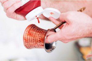 чистка турки кетчупом