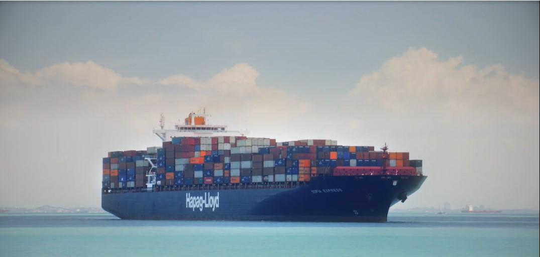 контейнеры кофе на корабле
