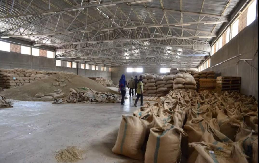 кофе на складе