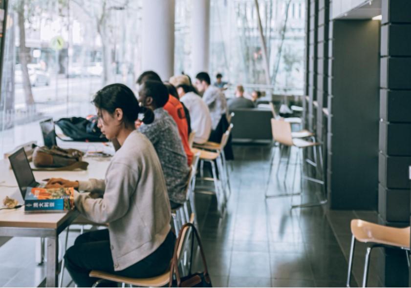 кофейня как место работы