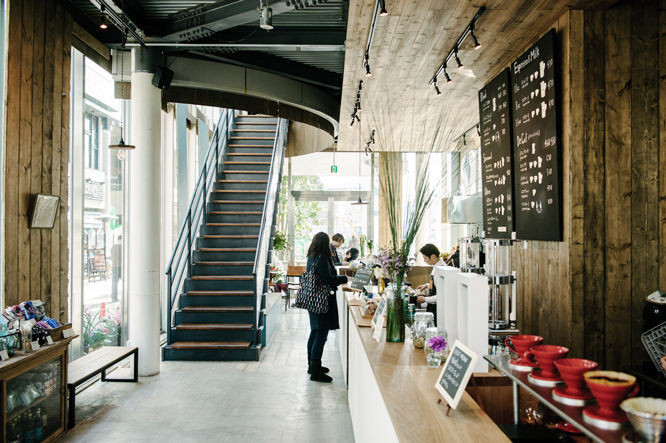 Ремесленные японские кафе