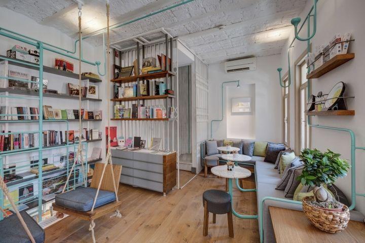 Гибридные книжные магазины с кафе